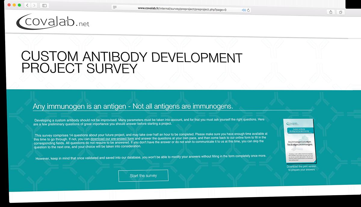 Pre-project Survey